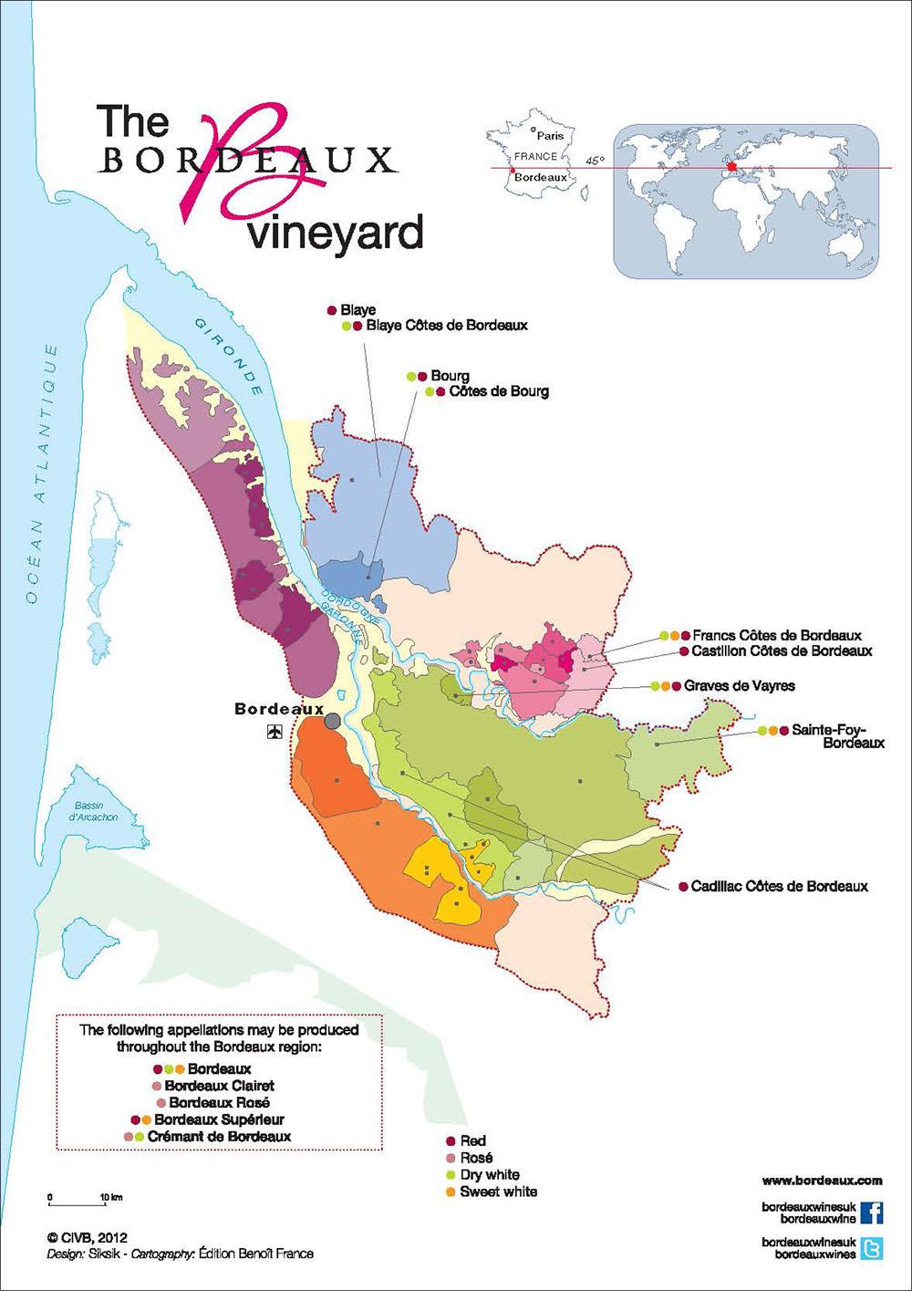 Compagnie Médocaine des Grands Crus - Blanquefort - Bordeaux - France - Côtes de Bordeaux